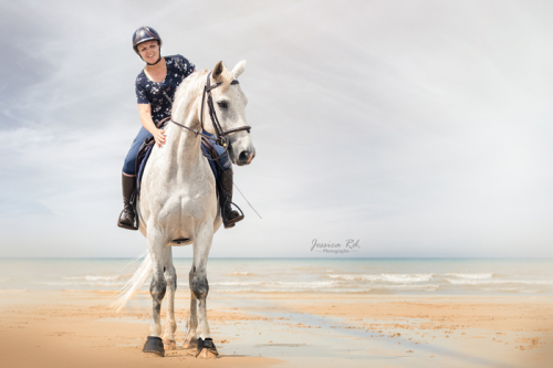 Photographie cheval plage du nord7
